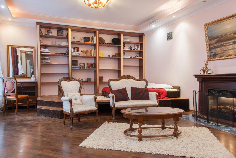 Studio apartment in Kiev center for daily rent